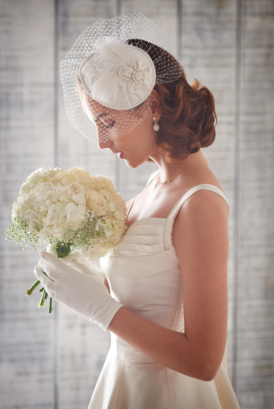 Bridal Headpiece For Simplicity