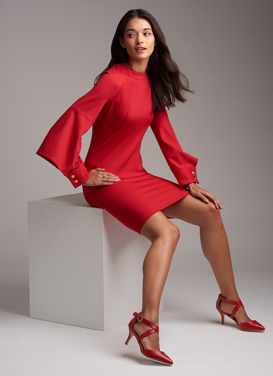 Simplicity Red Dress