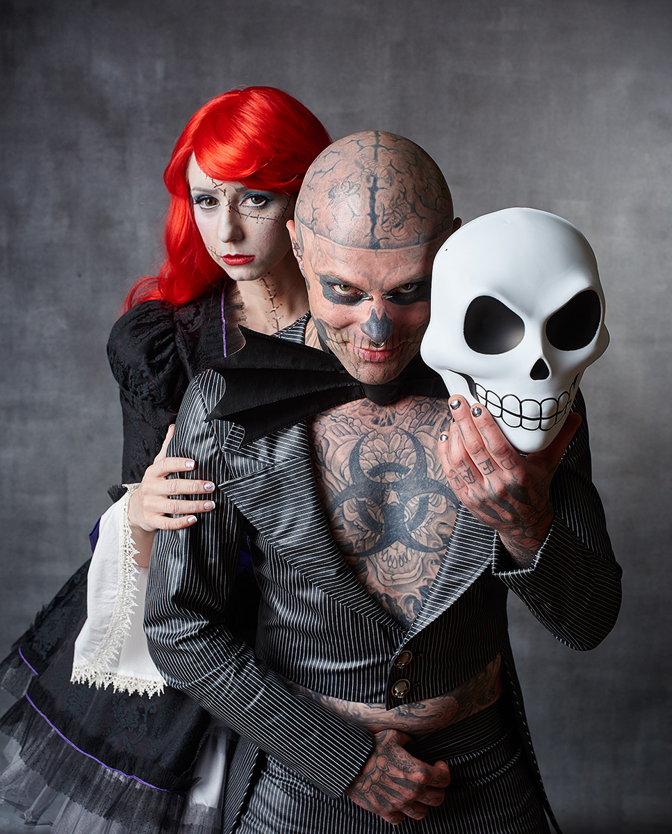 Zombie Boy and Riddle