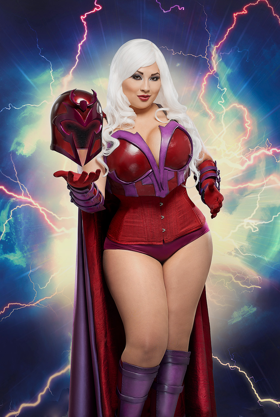 Ivy Doom Kitty As Magneto
