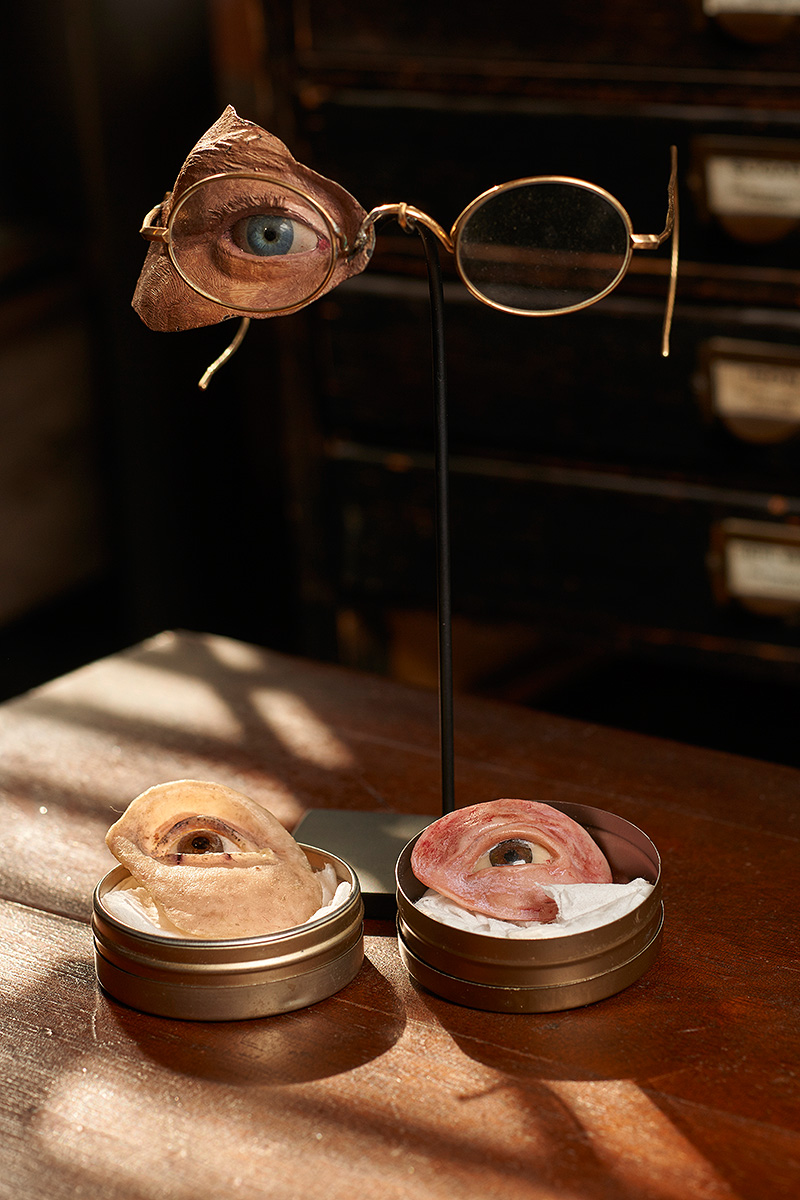 Early Eye Prosthetic