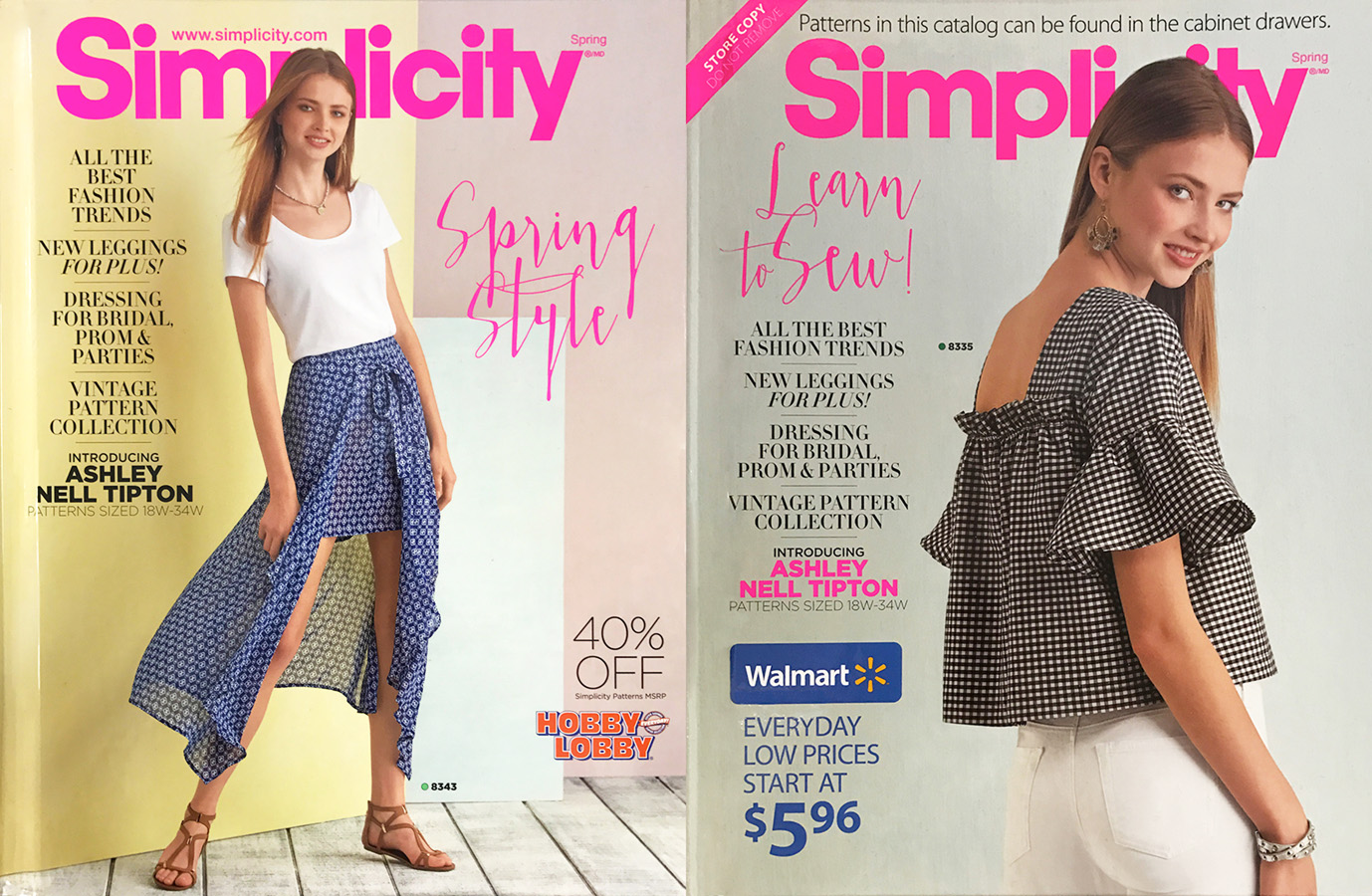 Simplicity Spring Covers