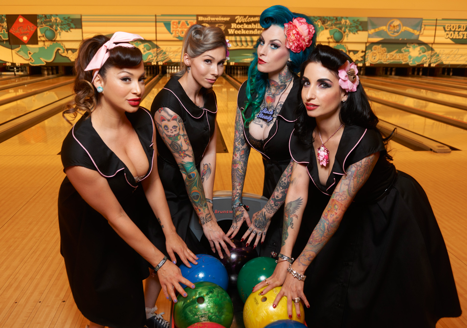 Bowling Beauties